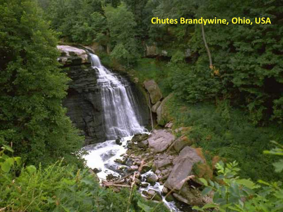 Chutes Brandywine, Ohio, USA