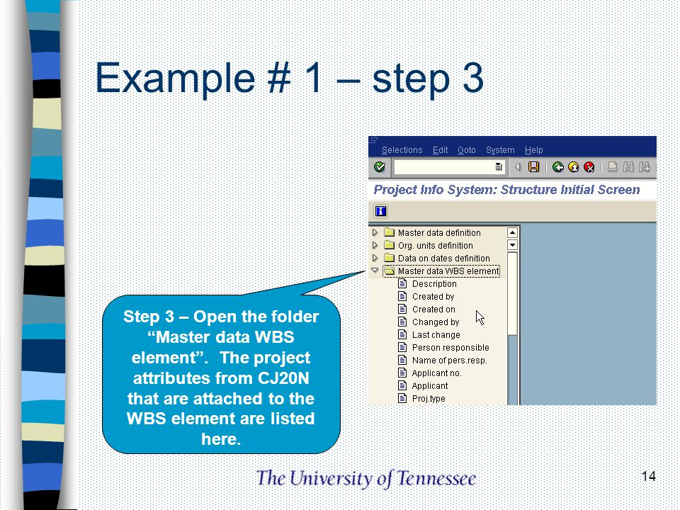 Example # 1 – step 3