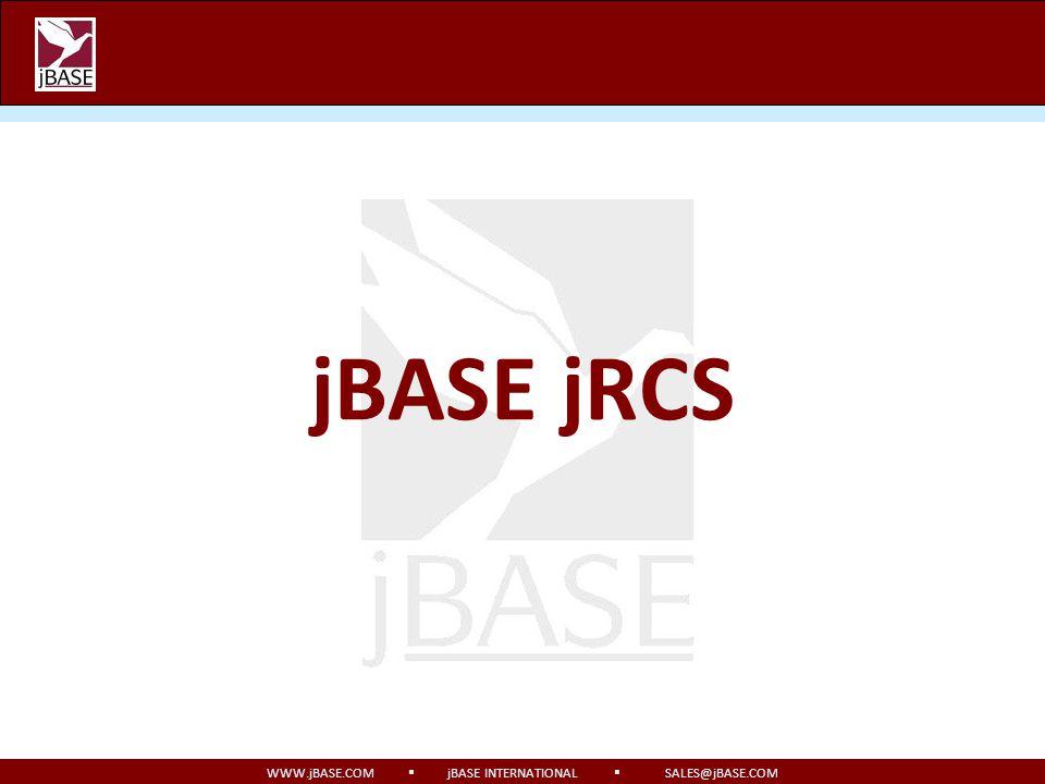 jBASE jRCS