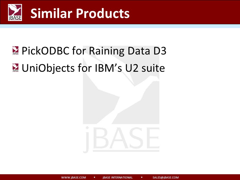Similar Products PickODBC for Raining Data D3