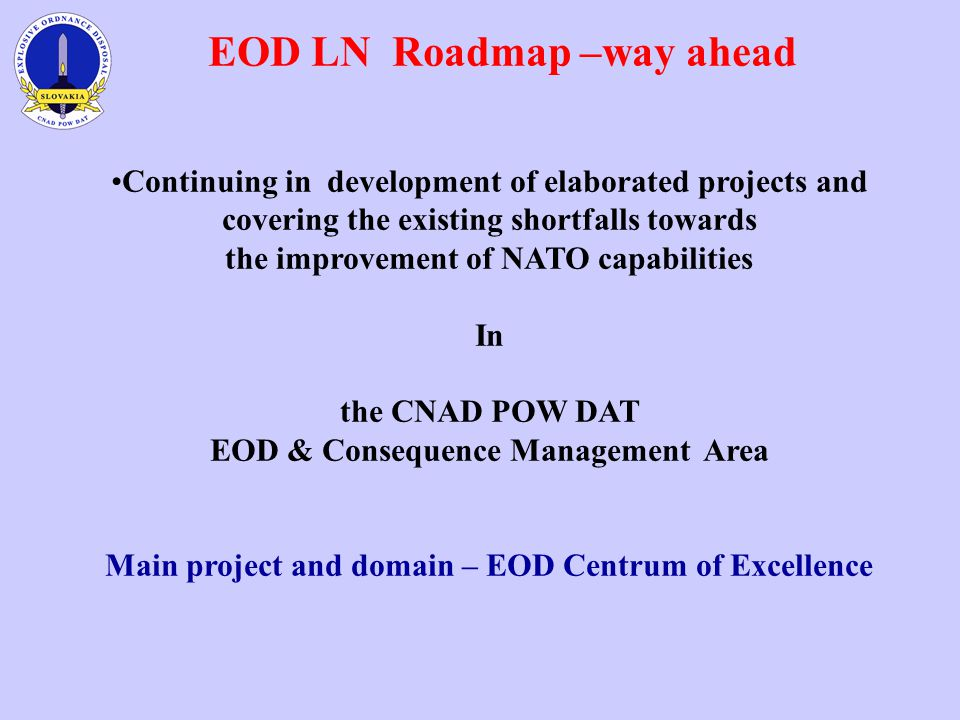 EOD LN Roadmap –way ahead