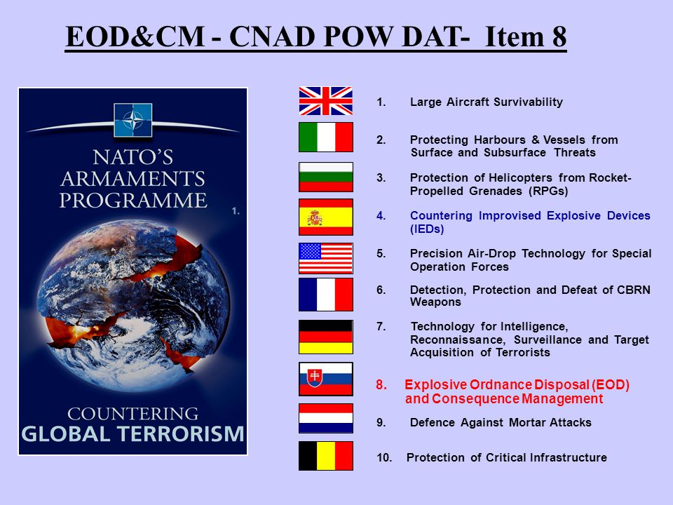 Explosive Ordnance Disposal (EOD) and Consequence Management