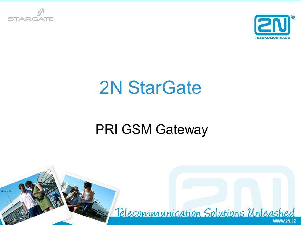 2N StarGate PRI GSM Gateway