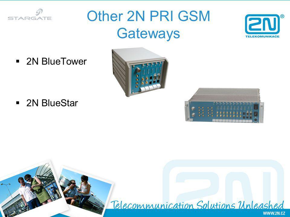 Other 2N PRI GSM Gateways