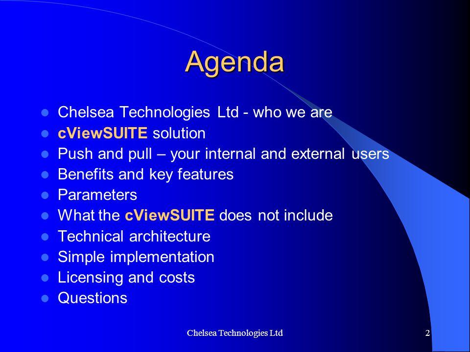 Chelsea Technologies Ltd
