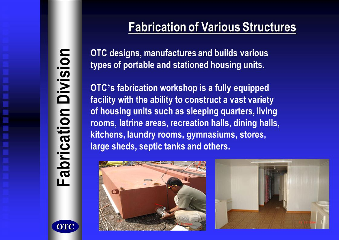 Fabrication of Various Structures