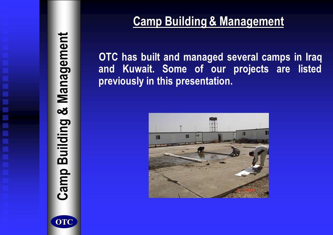 Camp Building & Management Camp Building & Management