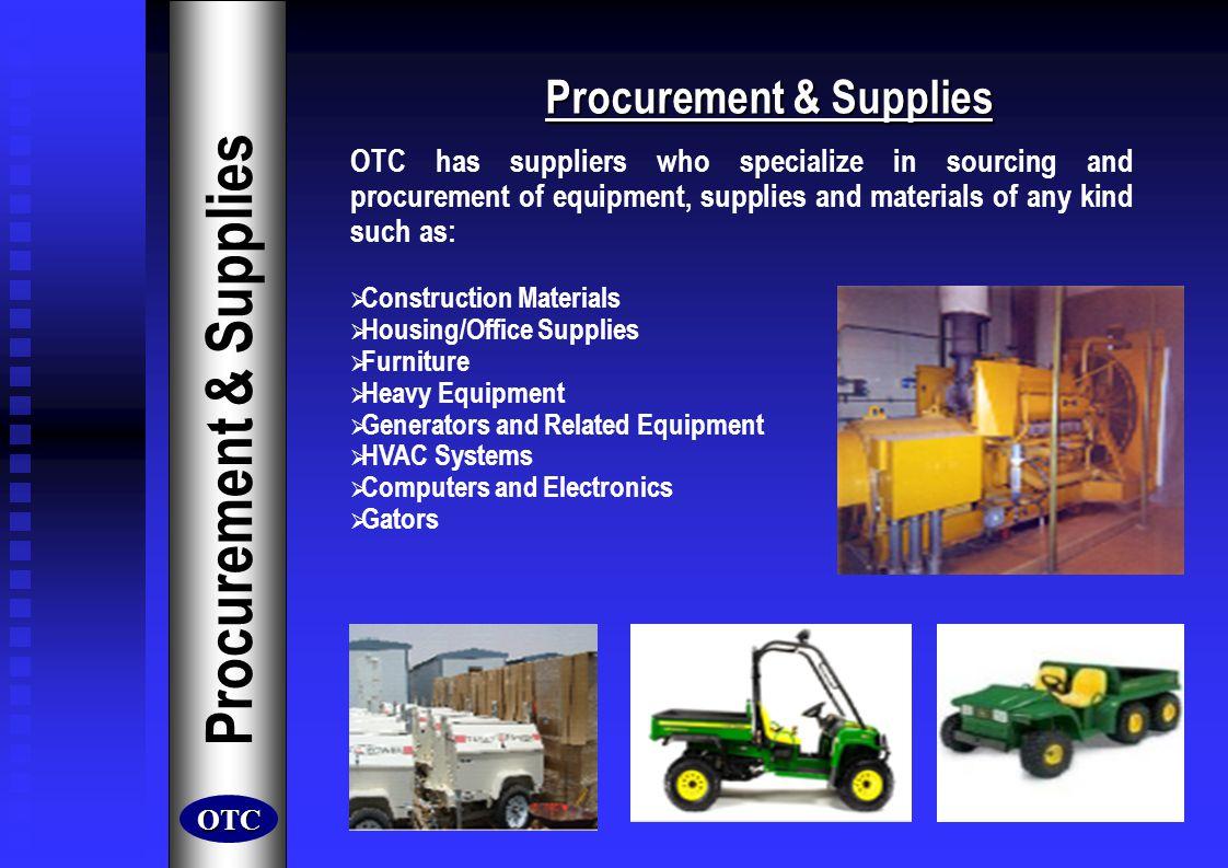 Procurement & Supplies
