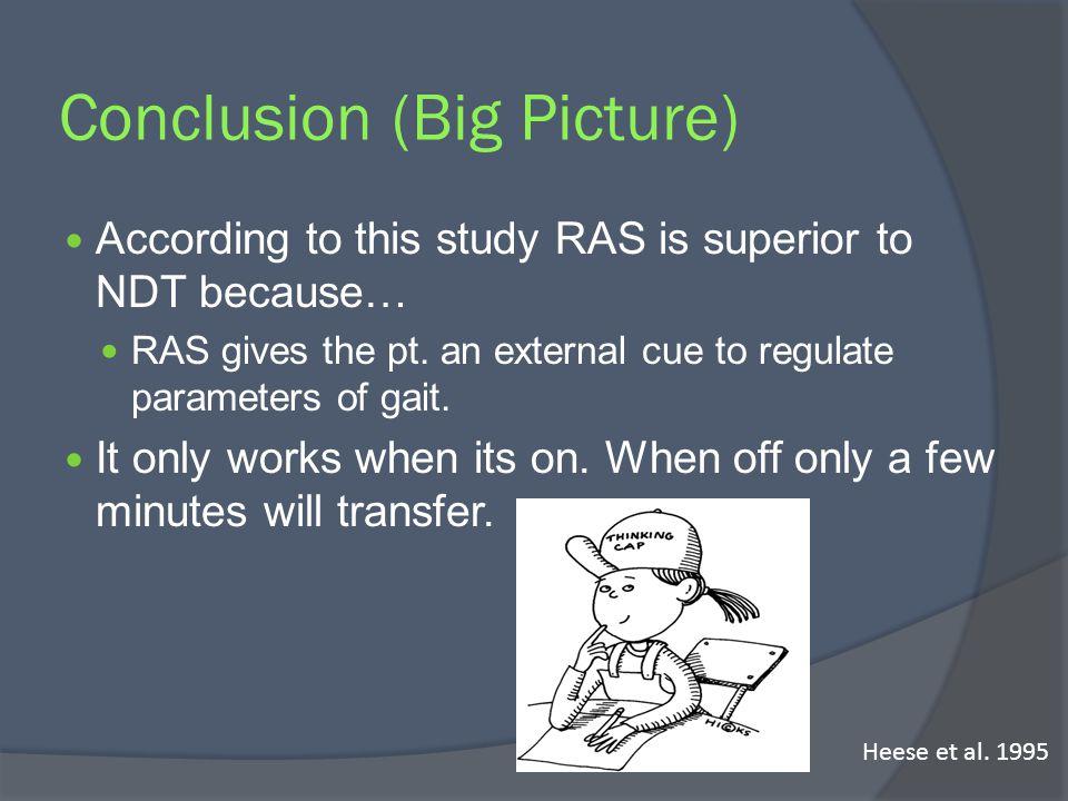 Conclusion (Big Picture)