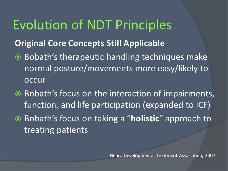 Evolution of NDT Principles