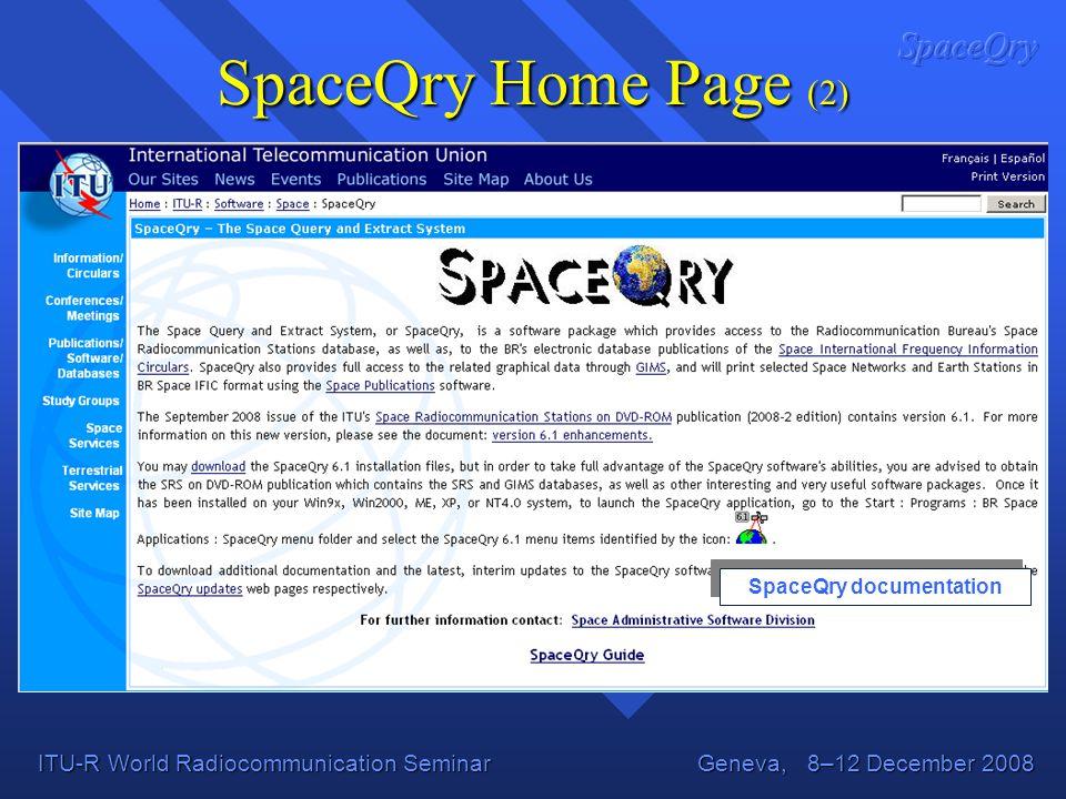 SpaceQry documentation