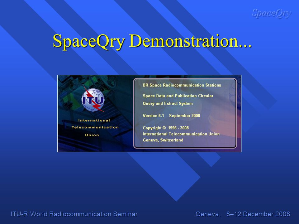 SpaceQry Demonstration...