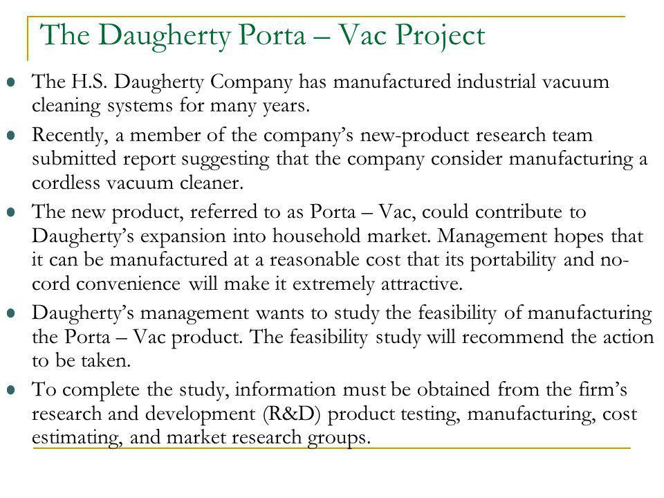 The Daugherty Porta – Vac Project