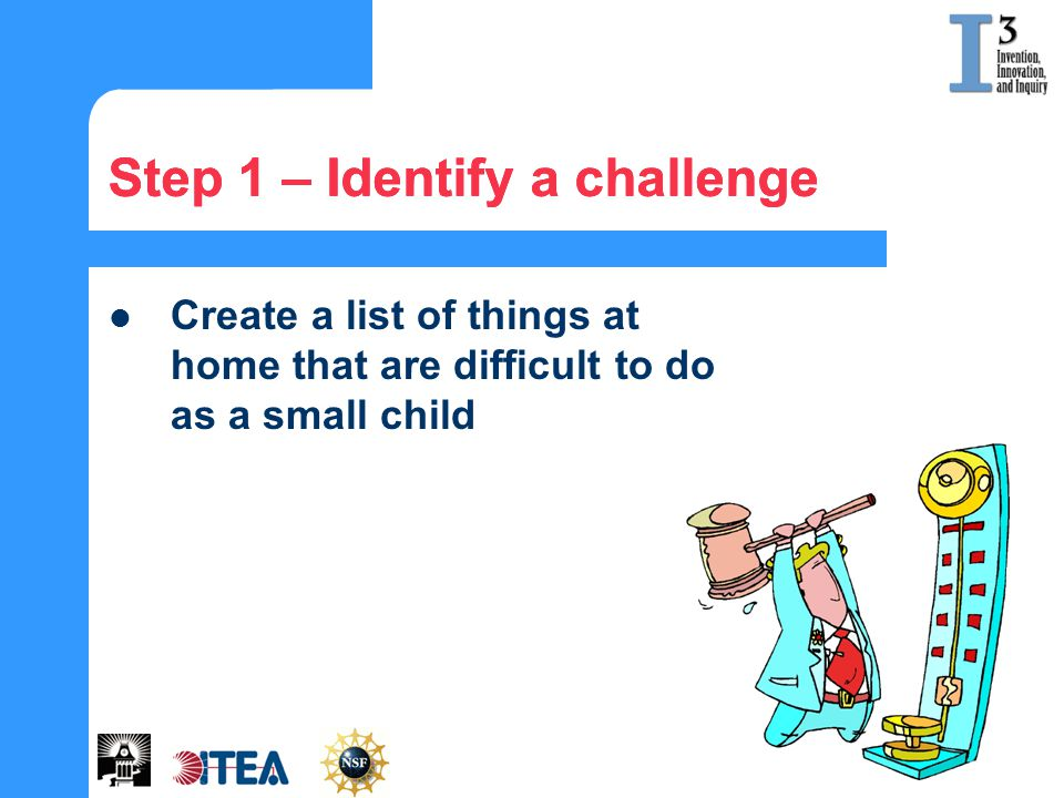 Step 1 – Identify a challenge
