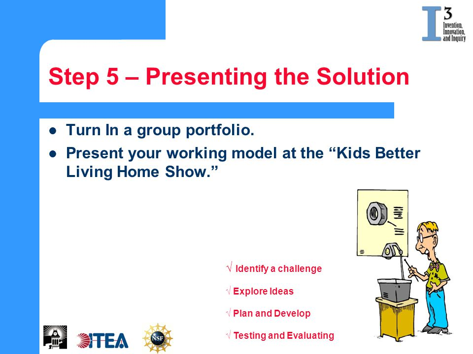 Step 5 – Presenting the Solution