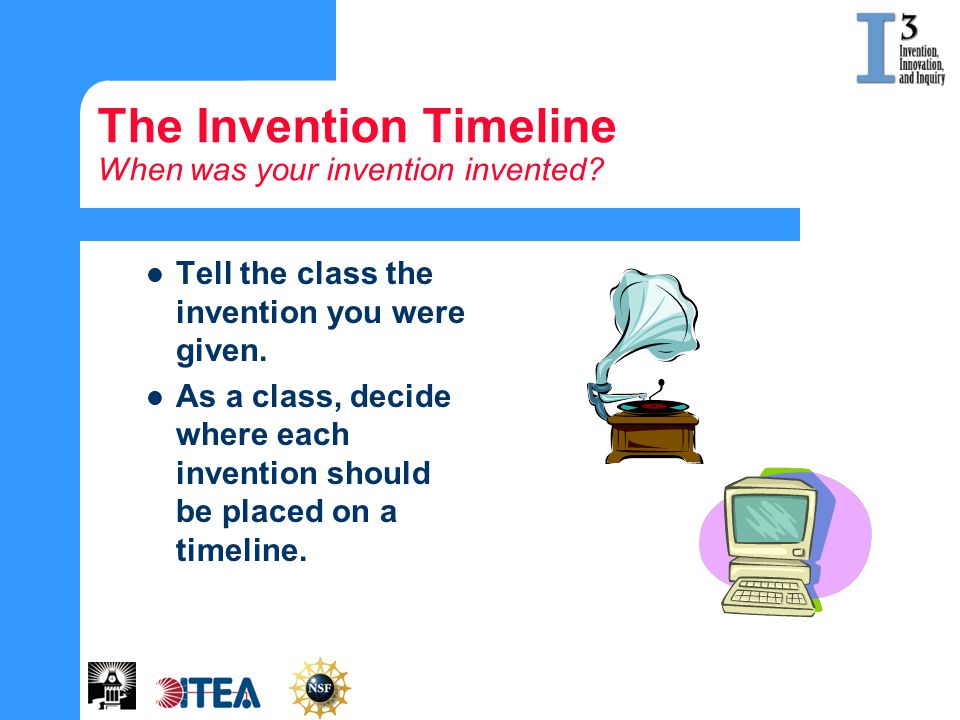 The Invention Timeline When was your invention invented