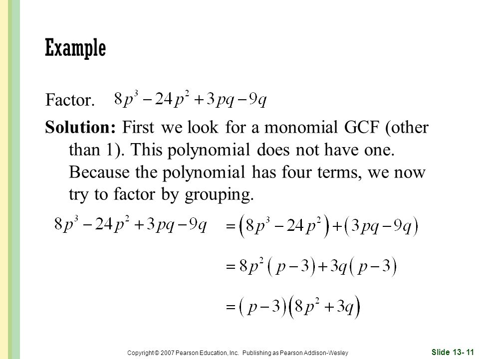 Example Factor.
