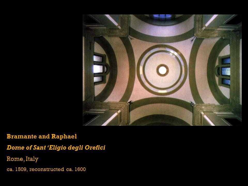 Dome of Sant 'Eligio degli Orefici Rome, Italy