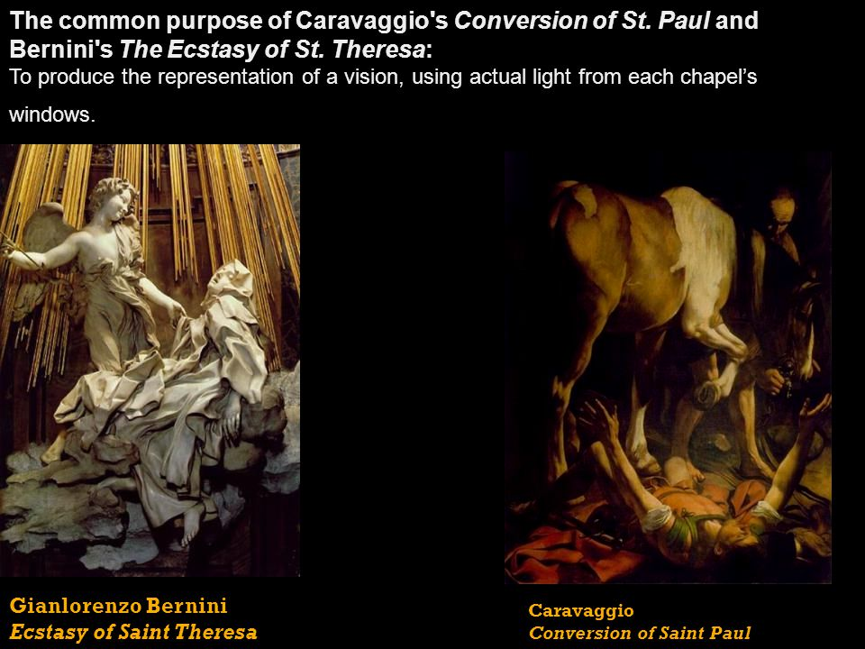 The Influence and Artistic Intent of Caravaggio