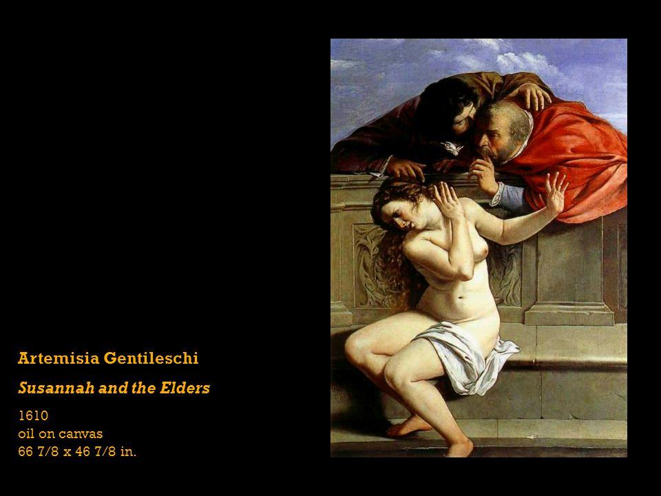 Artemisia Gentileschi Susannah and the Elders