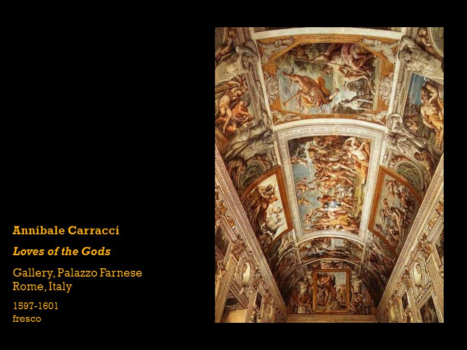 Gallery, Palazzo Farnese Rome, Italy