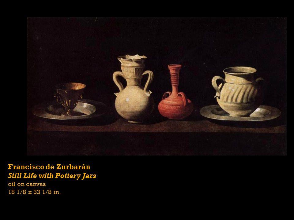 Still Life with Pottery Jars