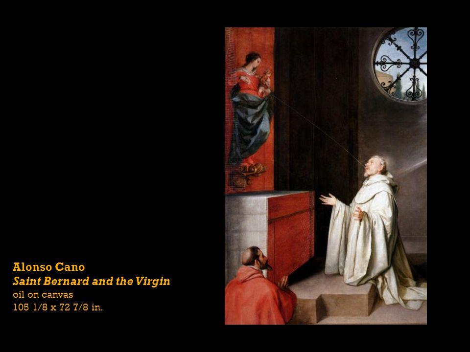 Saint Bernard and the Virgin
