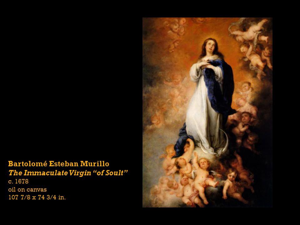 Bartolomé Esteban Murillo The Immaculate Virgin of Soult