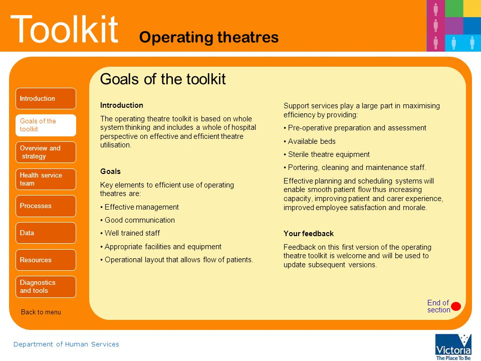Goals of the toolkit Introduction