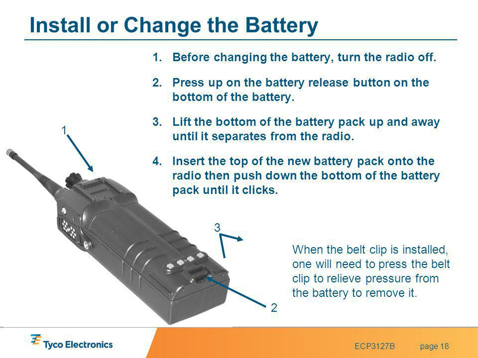 Install or Change the Battery
