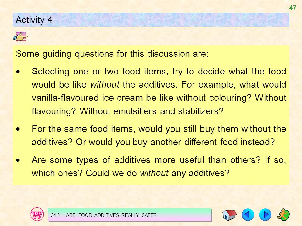 Some guiding questions for this discussion are: