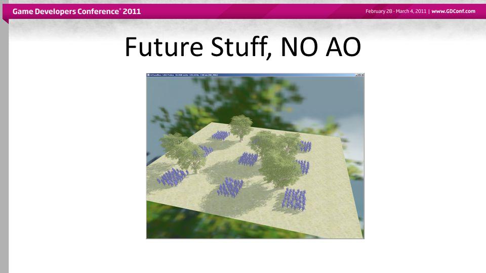 Future Stuff, NO AO