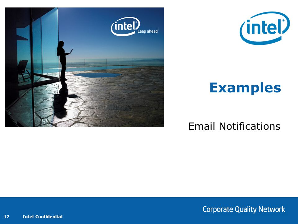 Examples Email Notifications