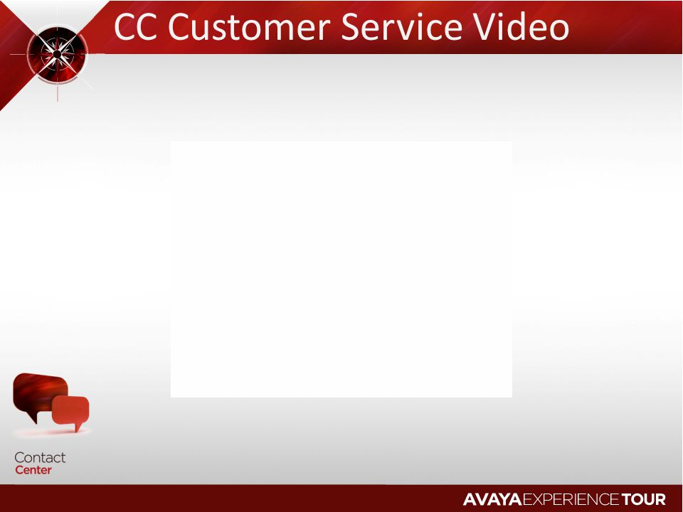 CC Customer Service Video