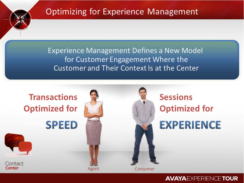 Optimizing for Experience Management