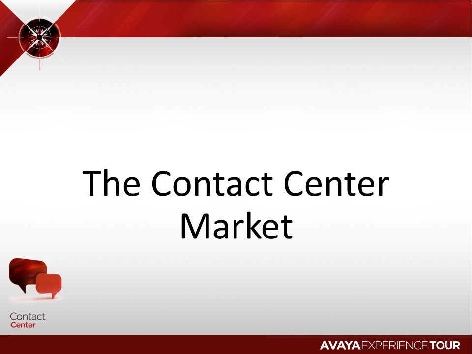 The Contact Center Market