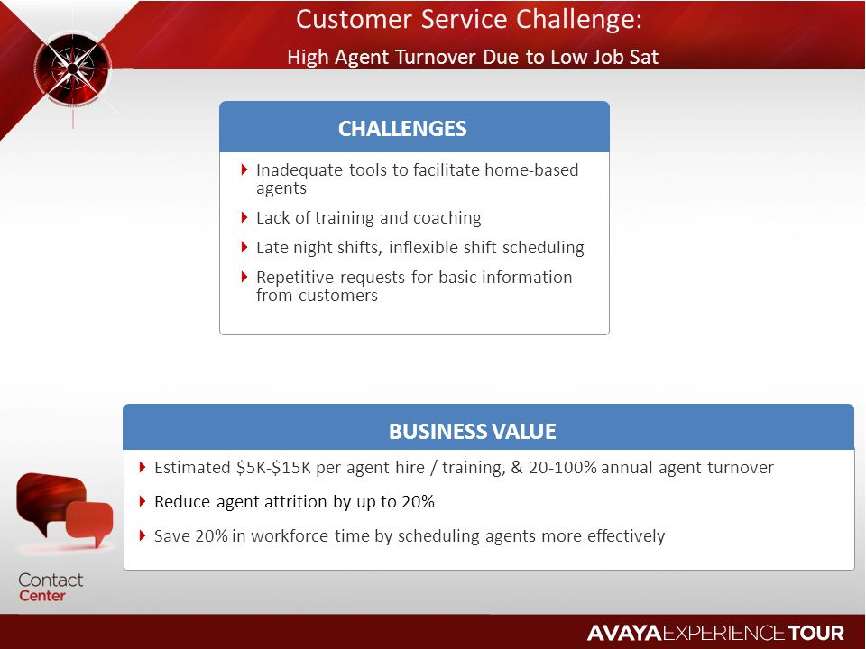 Customer Service Challenge: High Agent Turnover Due to Low Job Sat