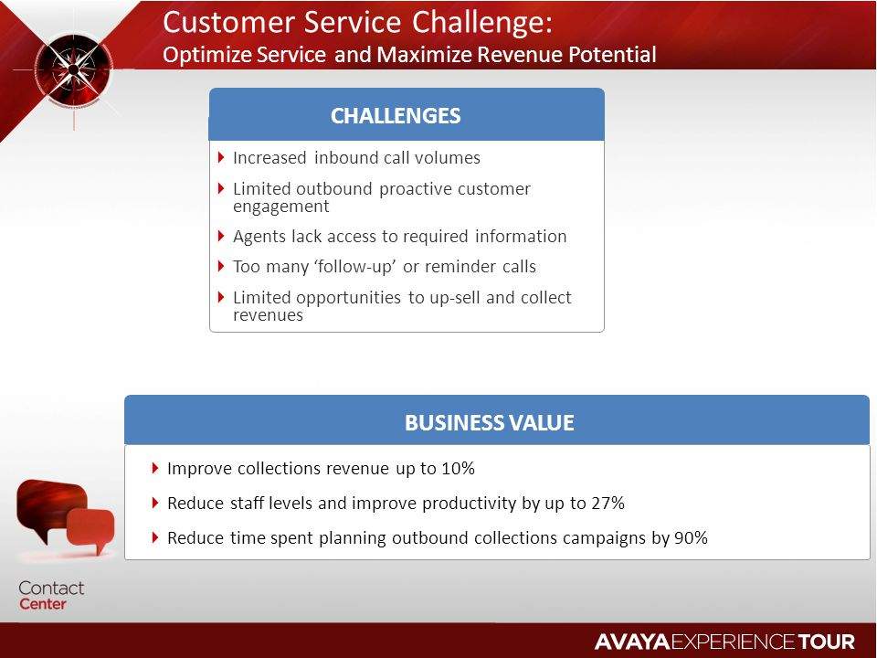 Customer Service Challenge: Optimize Service and Maximize Revenue Potential