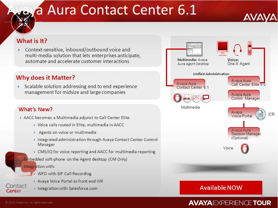 Avaya Aura Contact Center 6.1