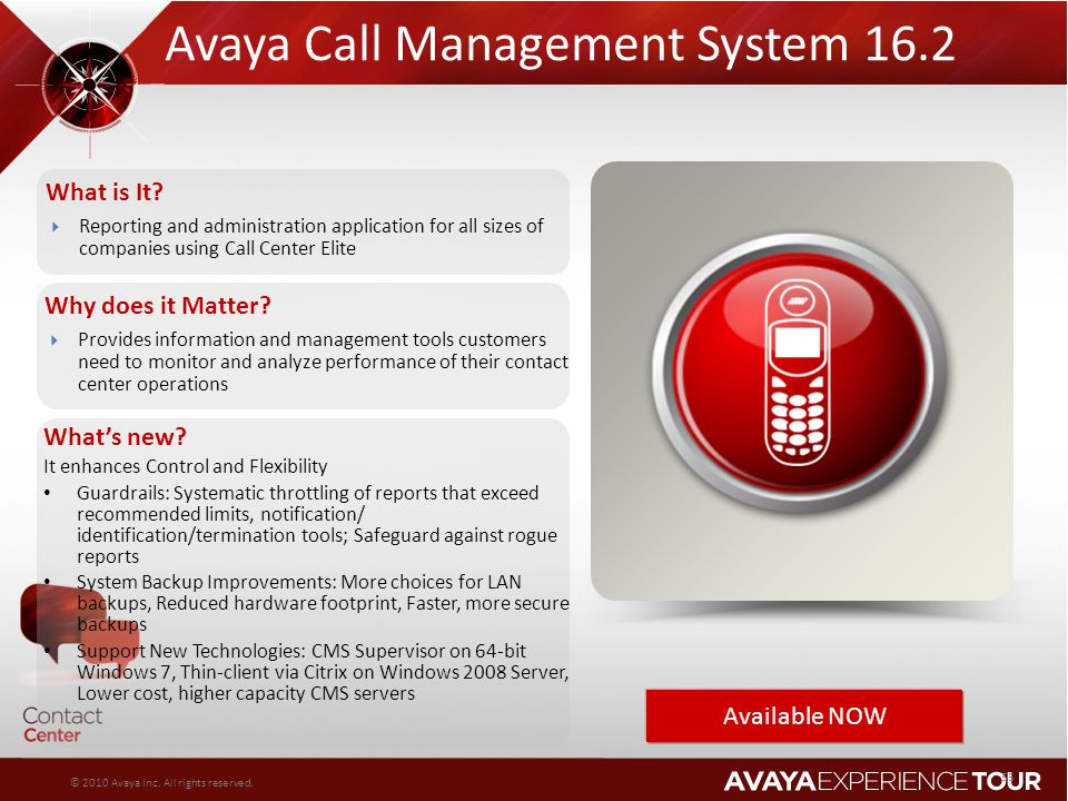 Avaya Call Management System 16.2