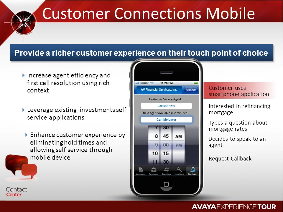 Customer Connections Mobile