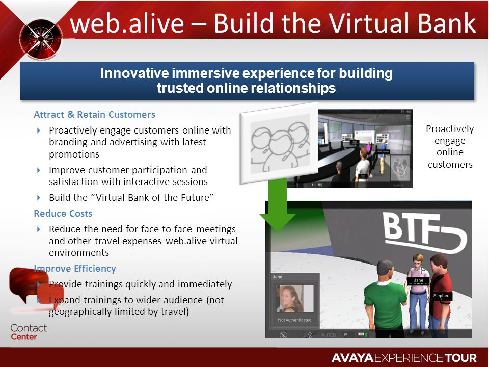 web.alive – Build the Virtual Bank