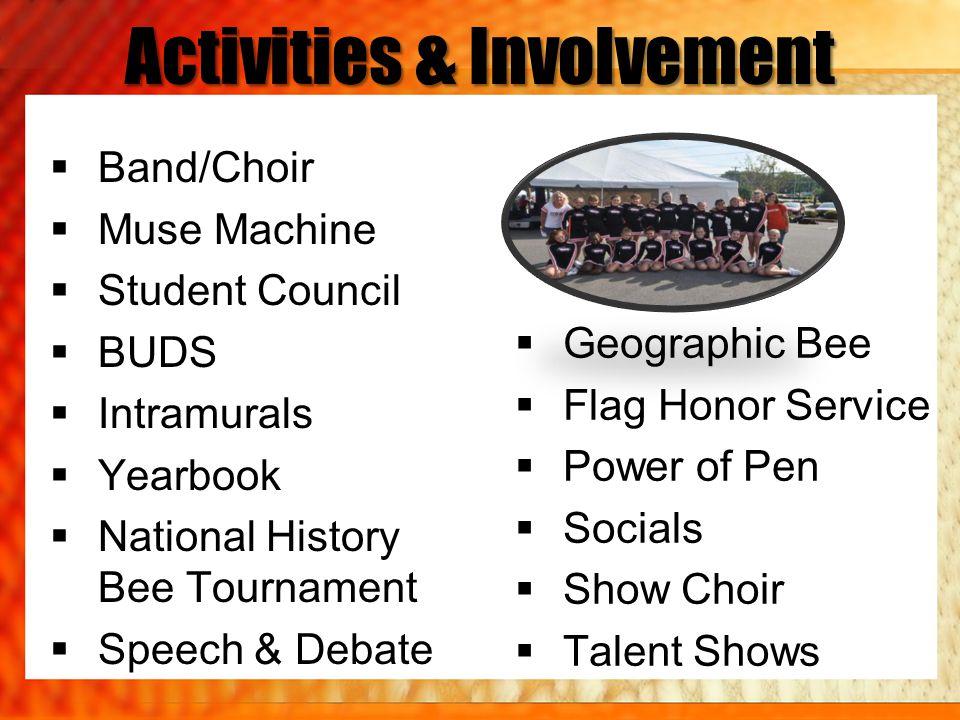 Activities & Involvement