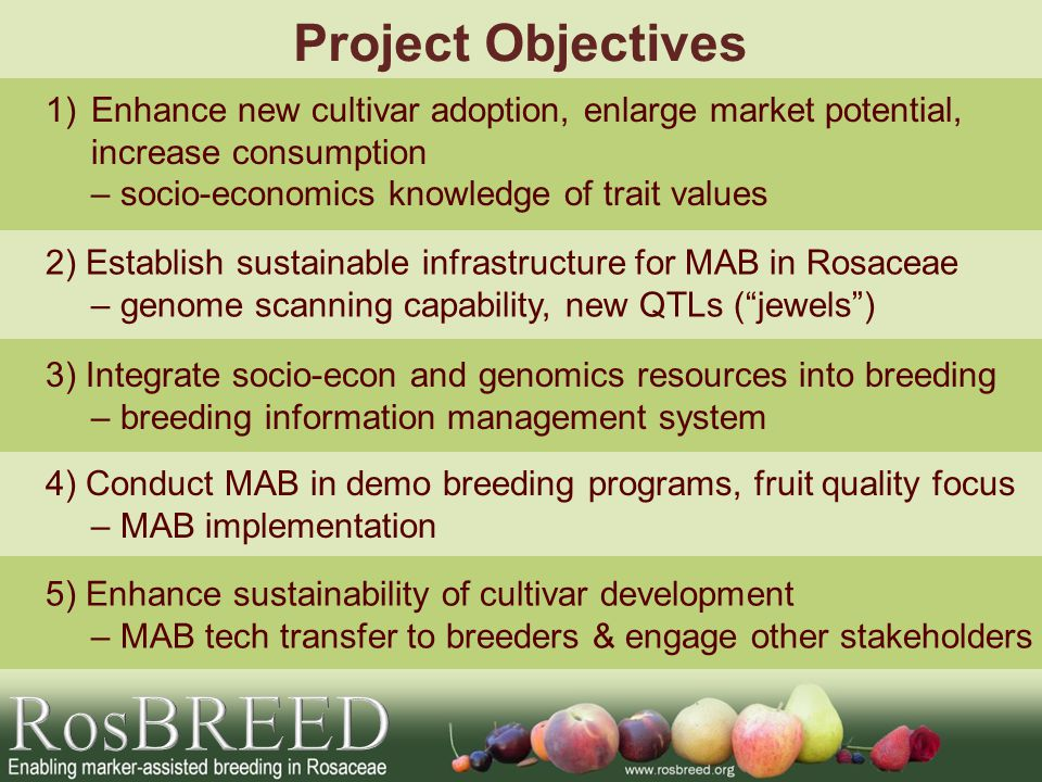 RosBREED Project Objectives