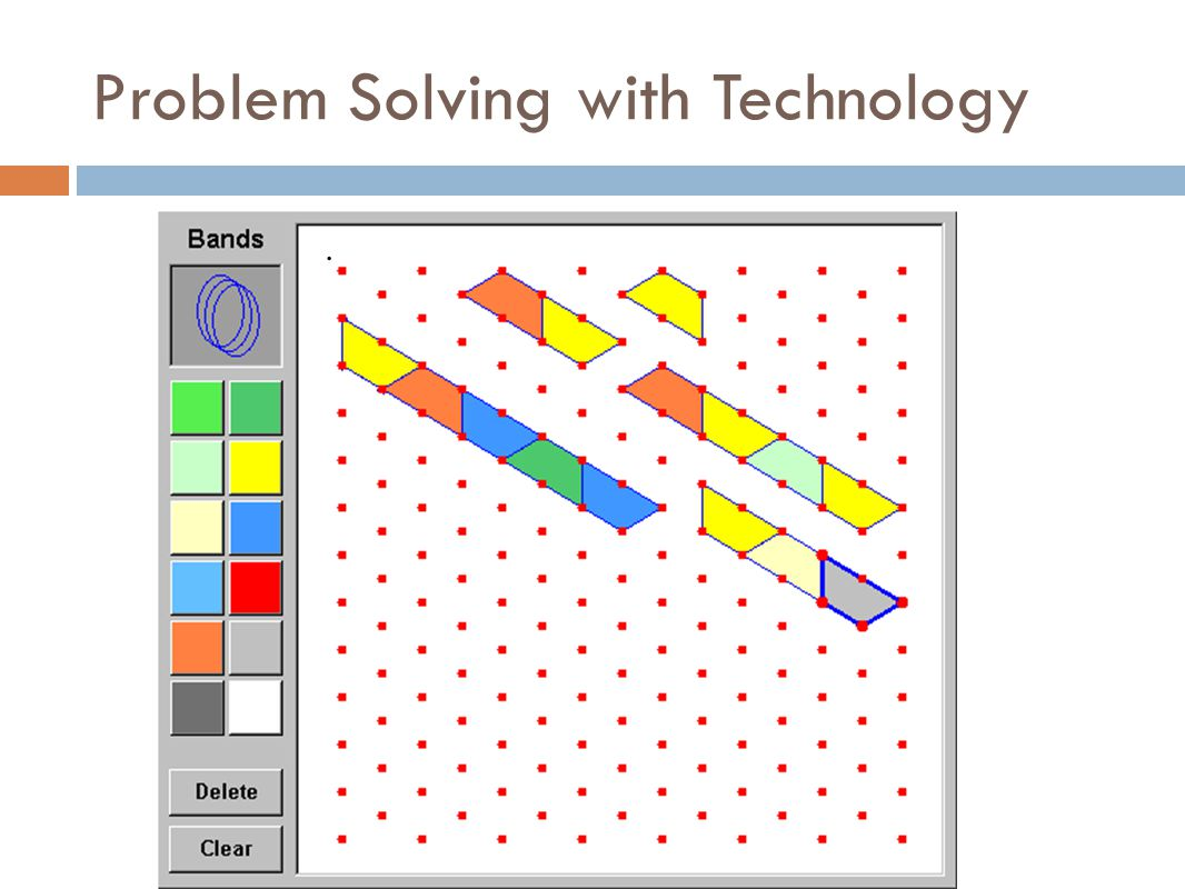 Problem Solving with Technology