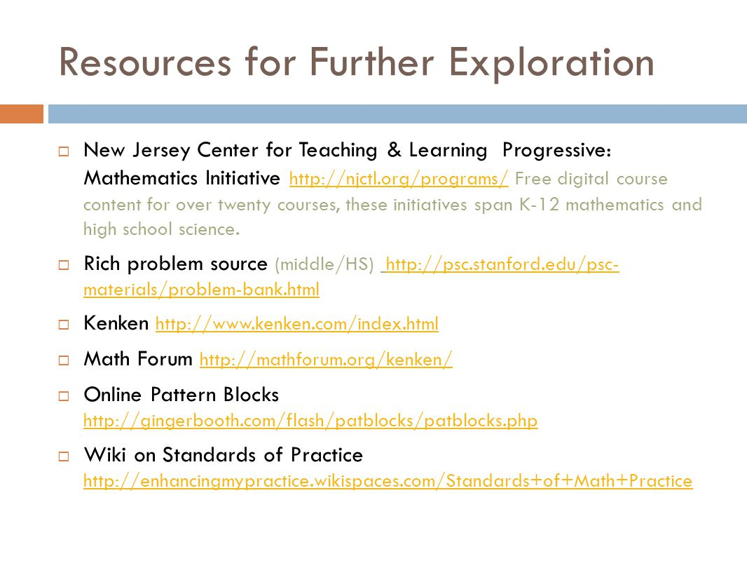 Resources for Further Exploration