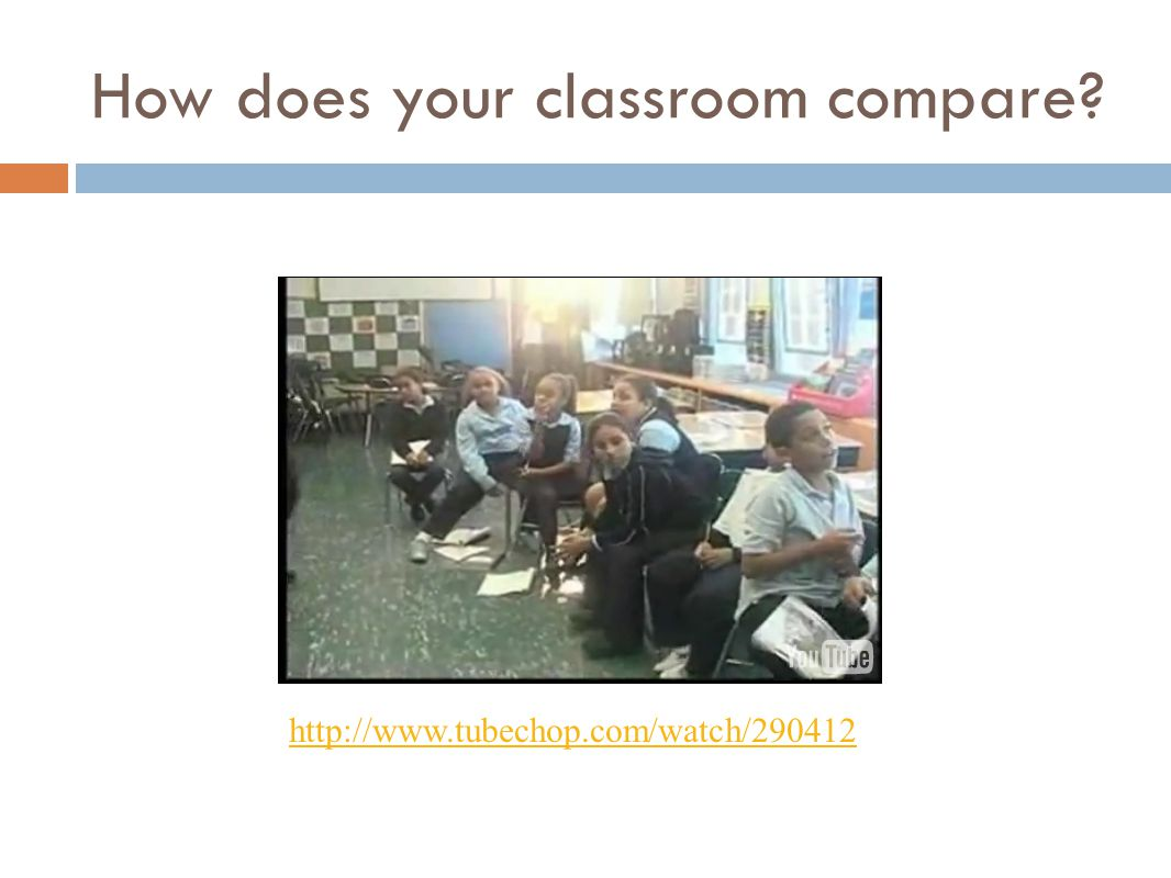 How does your classroom compare