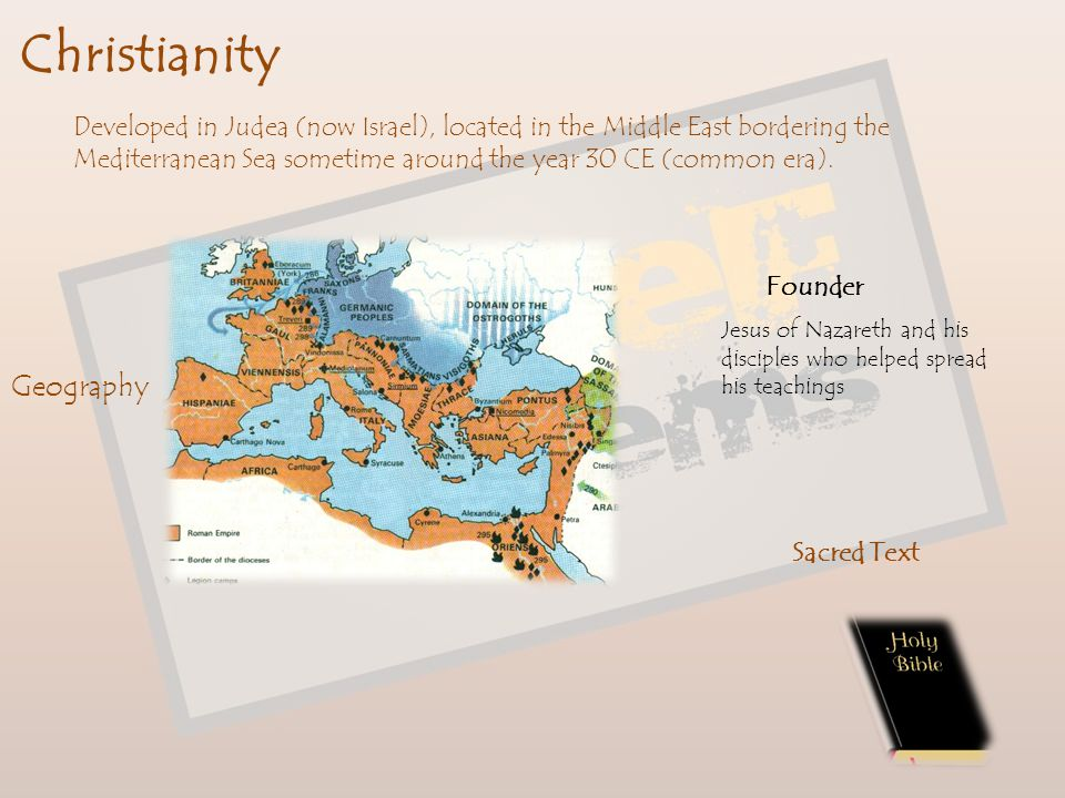 Christianity Geography