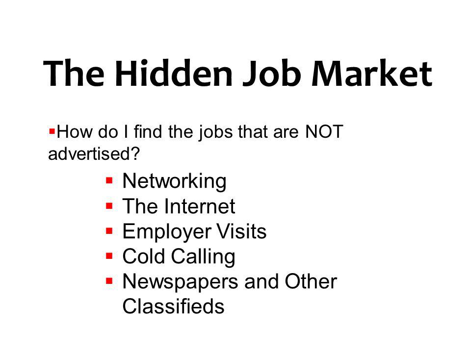 Job Search Strategies. - ppt download