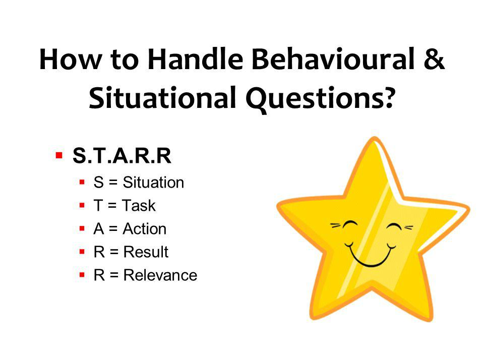 How to Handle Behavioural & Situational Questions